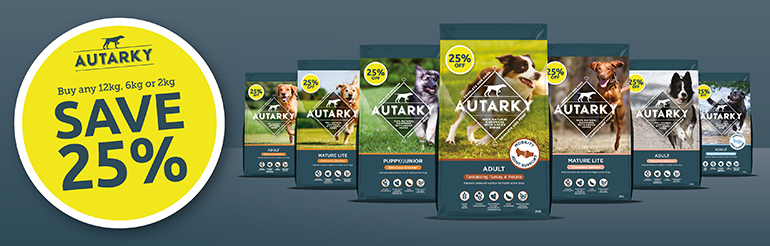 25% Off Autraky Dog Food