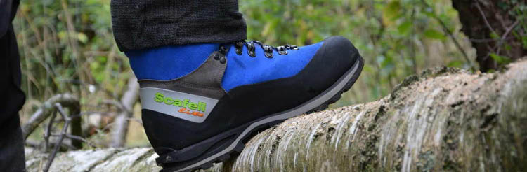 Arbortec, Stihl and Treehog Chainsaw boots