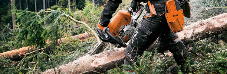 Chainsaw gloves from Stihl