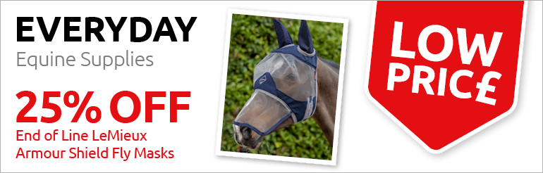 25% Off Armour Shield Fly Mask End of Line