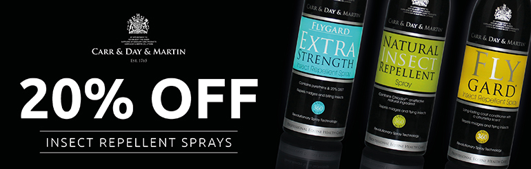 20% Off Carr & Day & Martin Fly Repellents