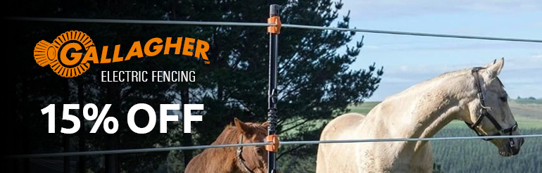 15% Off Gallagher Electric Fencing