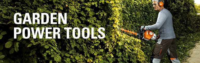 Power tools for your garden