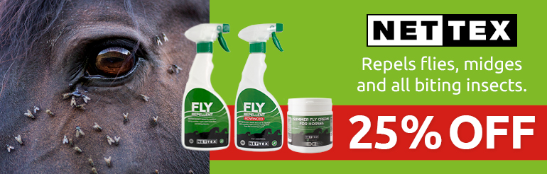 25% Off Nettex Fly Repellents - whilst stocks last
