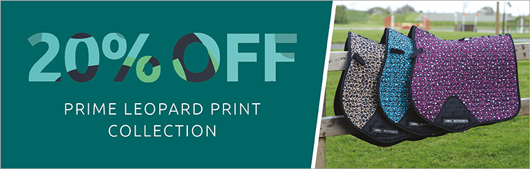 Weatherbeeta Prime Leopard print Collection Introductory Offer 20% Off