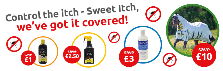 Discount on selected Sweet Itch products - Whilst Stocks Last!